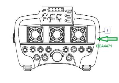 EEA4471 Пульт передатчик - фото 7780