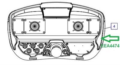 EEA4474 Пульт передатчик - фото 7783