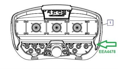 EEA4478 Пульт передатчик - фото 7787