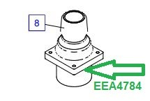 EEA4784 Рукоятка управления - фото 7805