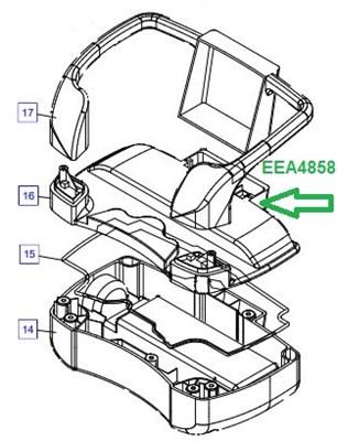 EEA4858 Корпус с переключателем - фото 7818