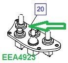 EEA4923 Блок переключения - фото 7825