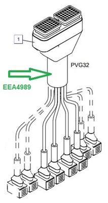 EEA4989 Жгут кабелей (-секций) - фото 7827