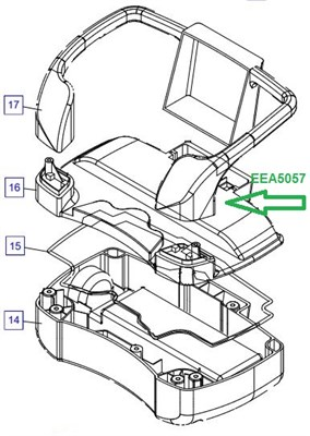 EEA5057 Корпус с переключателем - фото 7831