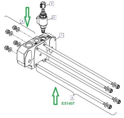 ES1407 Анкерная шпилька в сборе (-элементов) - фото 7850