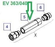 EV 363/040 Клапан претензионный - фото 7851