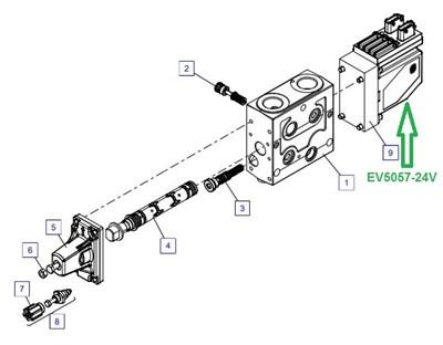 EV5057-24V Управление выключателем - фото 7860