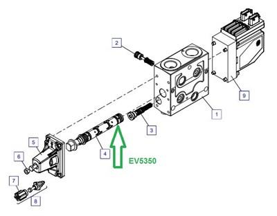EV5350 Тяга управления - фото 7861