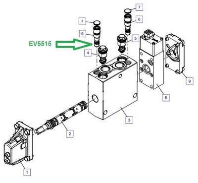 EV5515 Предохранительный вентиль - фото 7863