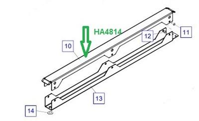 HA4814 Лоток для рукавов - фото 7877