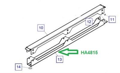 HA4815 Лоток для рукавов - фото 7878