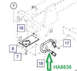 HA8836 Защитная дуга - фото 7885