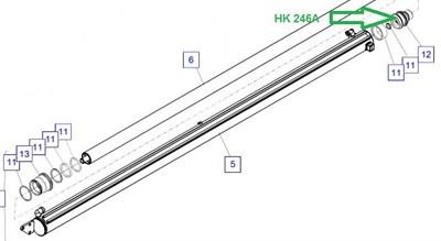HK 246A Поршень - фото 7904