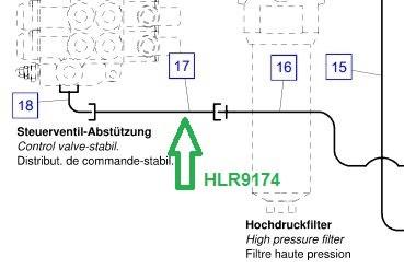 HLR9174 Трубопровод - фото 7912