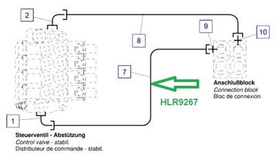HLR9267 Трубопровод - фото 7915