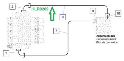 HLR9269 Трубопровод - фото 7917