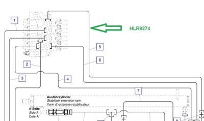 HLR9274 Трубопровод - фото 7919