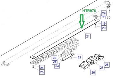 HTR976 Пластина усиления - фото 7928