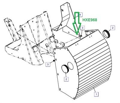 HXE968 Защитное ограждение - фото 7931