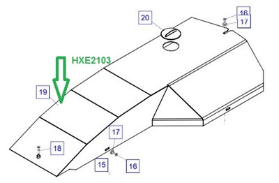 HXE2103 Кронштейн - фото 7934
