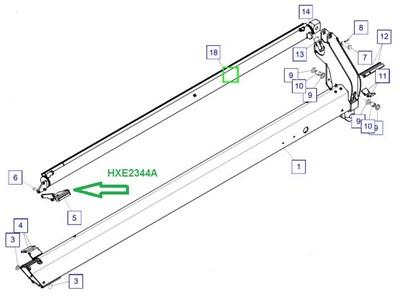 HXE2344A Направляющая скольжения - фото 7936