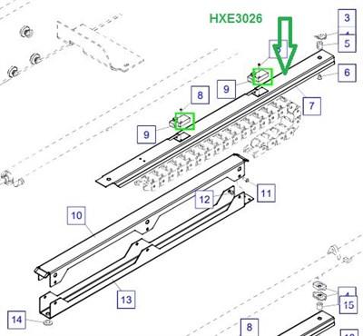 HXE3026 Лоток для рукавов - фото 7938