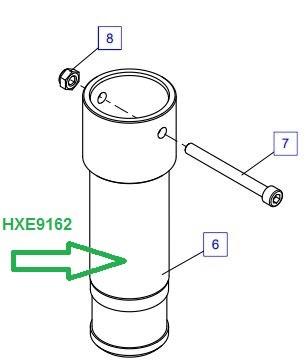 HXE9162 Удлинитель опоры - фото 7941