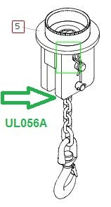 UL056A Стропы для груза, в сборе - фото 7948