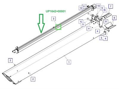 UP1642+00001 Цилиндр телескопирования - фото 7953