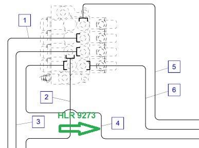 HLR9273 Трубопровод - фото 7964