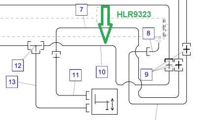 HLR9323 Трубопровод - фото 7965