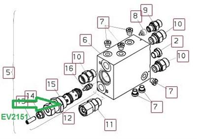 EV2151 Редукционный клапан - фото 7977