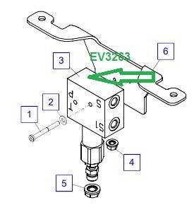 EV3263 Предохранительный клапан - фото 7980