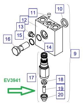 EV3941 Редукционный клапан - фото 7981