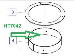 HT7042 Подшипник - фото 8001