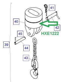HXE1222 Грузозахватное устройство - фото 8005