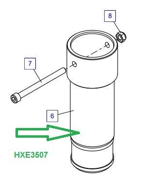 HXE3507 Удлинитель опоры - фото 8015