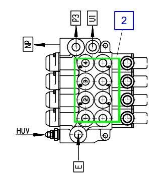 KSC00013A Гидрораспределитель (-секций) - фото 8023