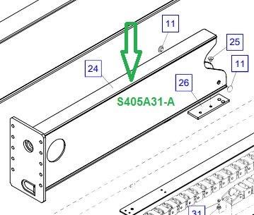 S405A31-A Удлинительная коробка, короткая - фото 8033