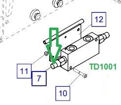 TD1001 Комплект уплотнений - фото 8036