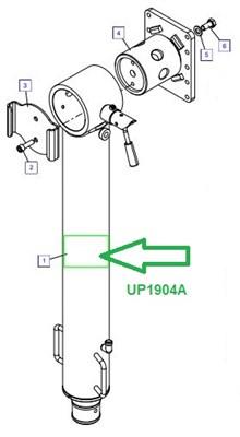 UP1904A Опорный цилиндр - фото 8043