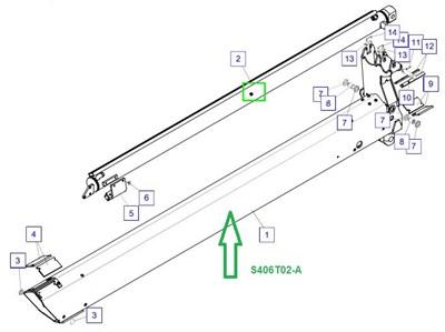 S406T02-A Секция телескопирования - фото 8048