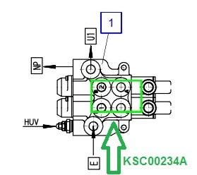 KSC00234A Гидрораспределитель (-секций) - фото 8050