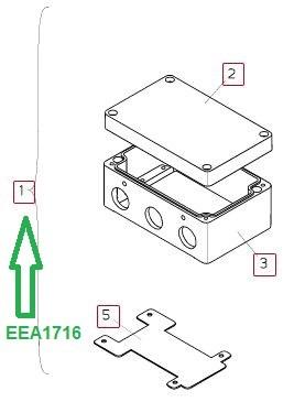 EEA1716 Корпус клапана в сборе - фото 8057