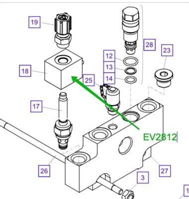 EV2812 Магнитная катушка - фото 8136