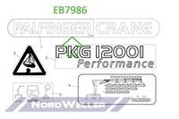 EB7986 Фирменный шильдик