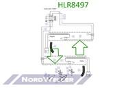 HLR8497 Трубопровод