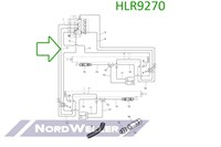 HLR9270 Трубопровод