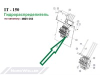 MIEV 056 Управляющий клапан ИТ150 RS214 1714-013010