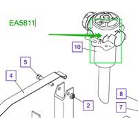 EA5811 Возвратный фильтр в сборе